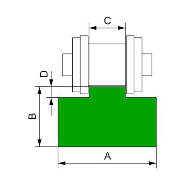 T-cadena-simple